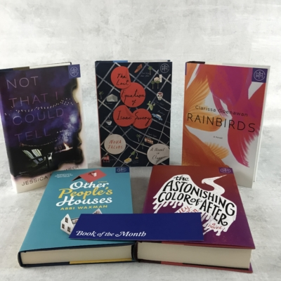 Book of the Month March 2018 Subscription Box Review + FREE Book Coupon