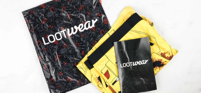 Loot Undies March 2018 Subscription Review + Coupon