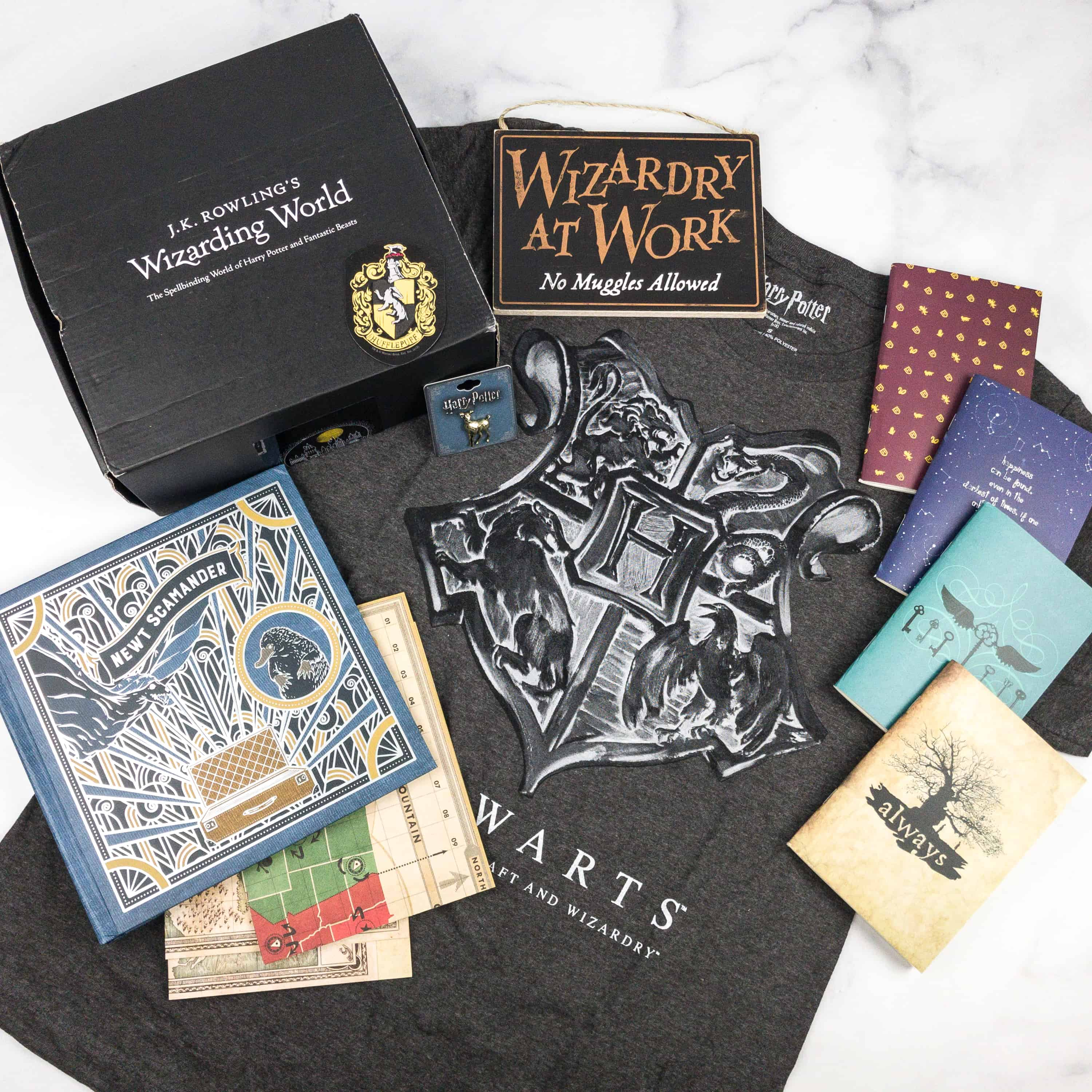 JK Rowling's Wizarding World Crate March 2018 Review + Coupon