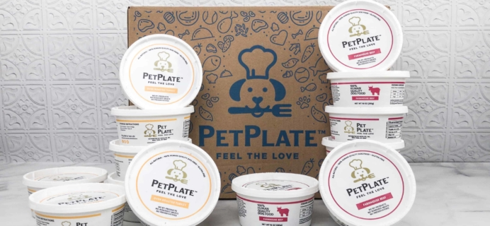 Pet Plate Review + 50% Off Coupon!
