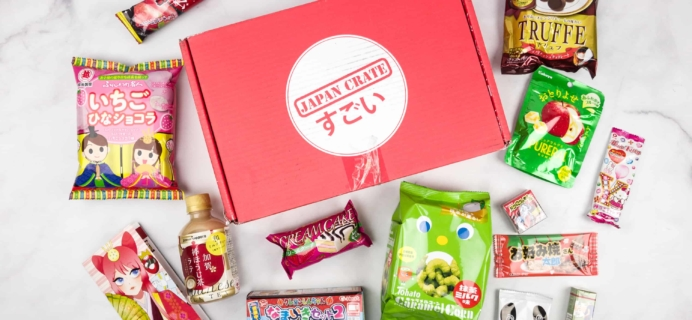 Japan Crate March 2018 Subscription Box Review + Coupon