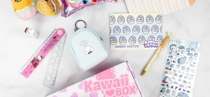 Kawaii Box March 2018 Subscription Box Review