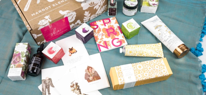 Margot Elena Discovery Box Review – Spring 2018
