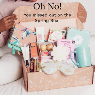FabFitFun Post Spring 2018 Editor's Box Customization Options + $10 Coupon!
