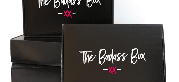 New Subscription Boxes: The Badass Box Spring 2018 Available Now + Full Spoilers + Coupon!