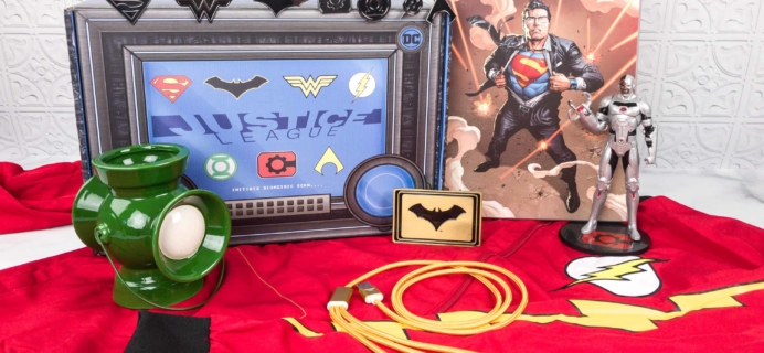DC Comics World's Finest: The Collection Spring 2018 Box Review – JUSTICE LEAGUE