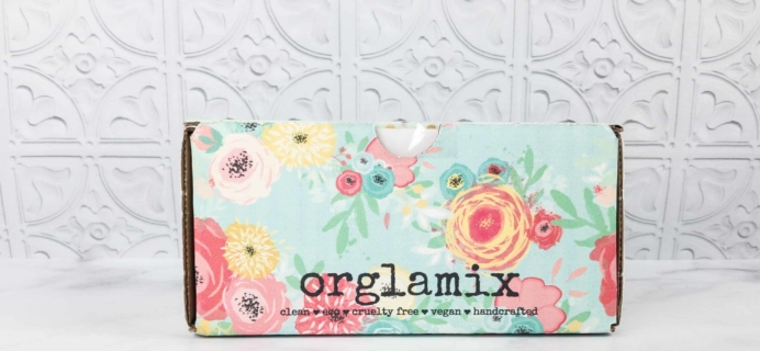 Orglamix March 2018 Subscription Box Review & Coupon