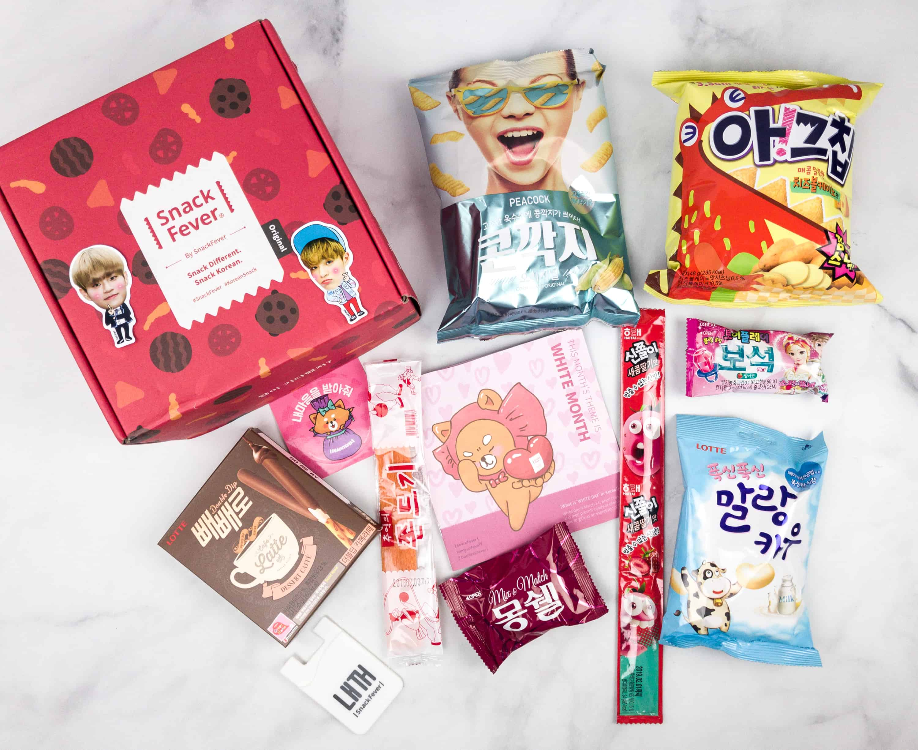 March 2018 Snack Fever Subscription Box Review + Coupon – Original Box