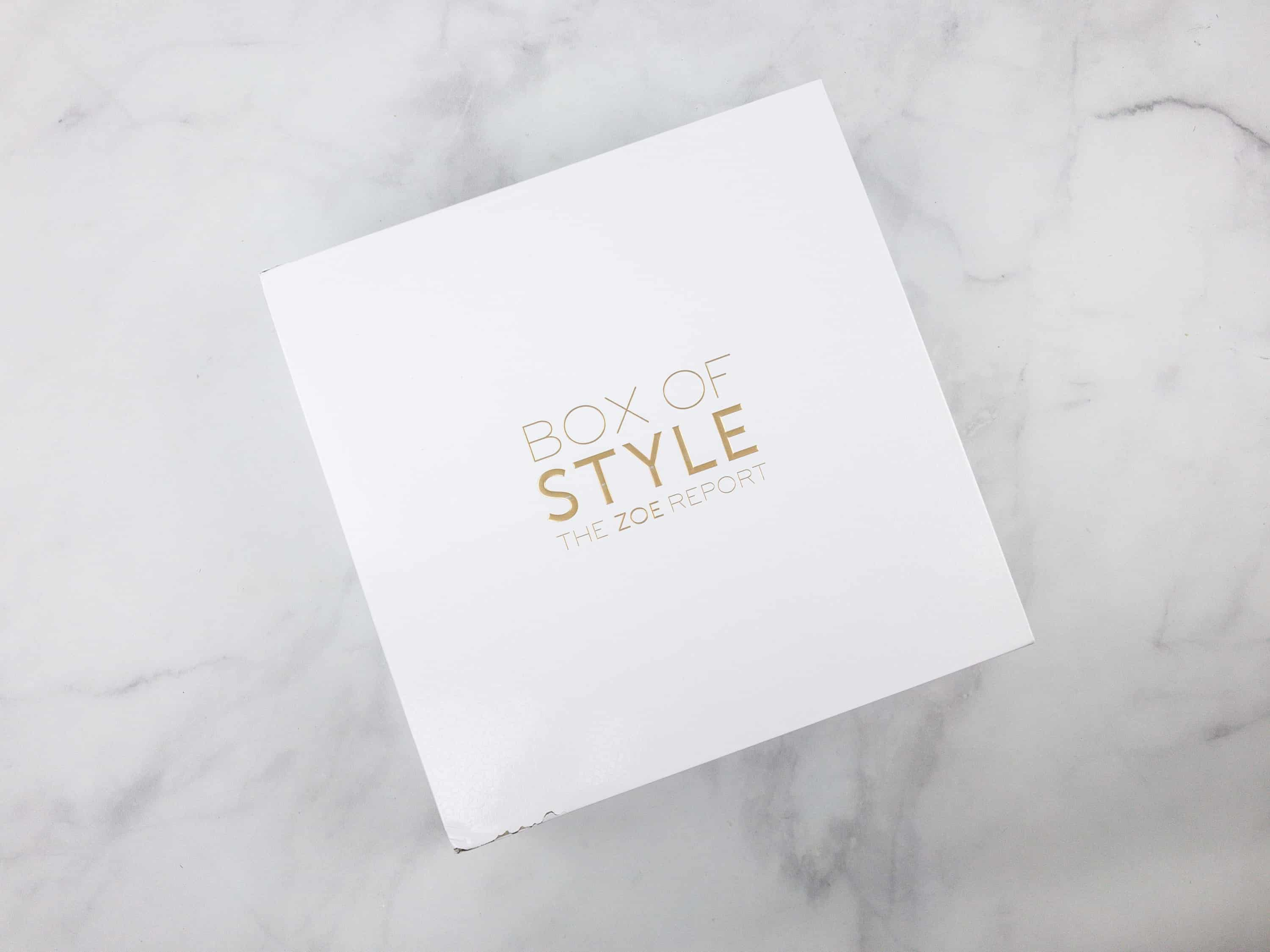 The Zoe Report Box of Style Summer 2018 Selections – LAST DAY!