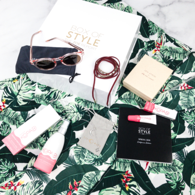 Rachel Zoe Box of Style Spring 2018 Subscription Box Review + Coupon