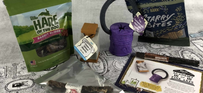 Barkbox March 2018 Subscription Box Review – Super Chewer