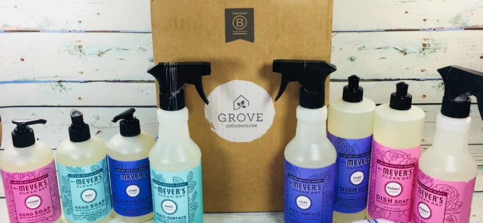 Grove Collaborative Subscription Box Review & Coupon – March 2018