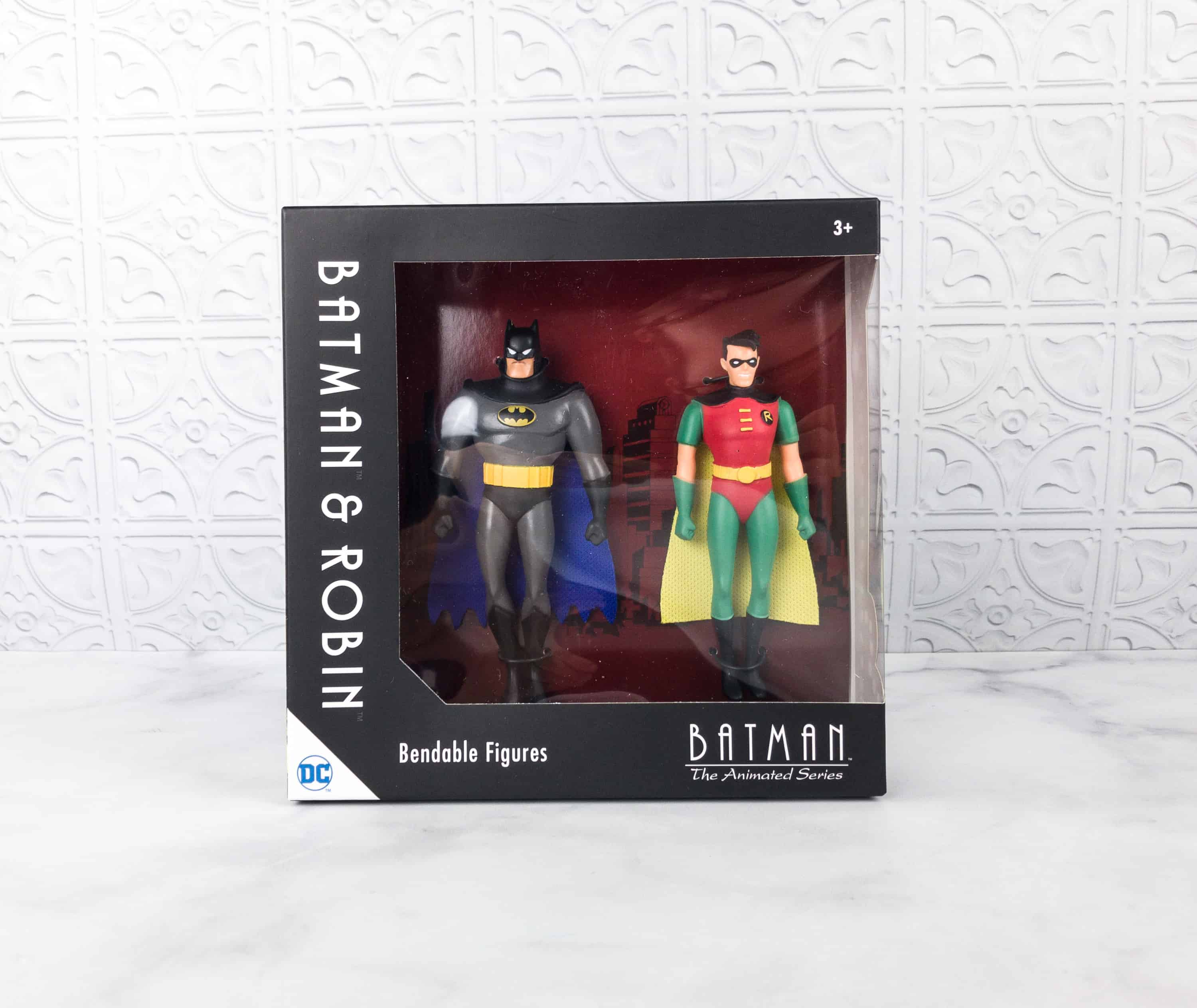 Loot crate dx march 2018 subscription box review coupon hello batman robin bendable figures we got the most popular dynamic duo in super hero history batman and robin as bendable figures fandeluxe Image collections