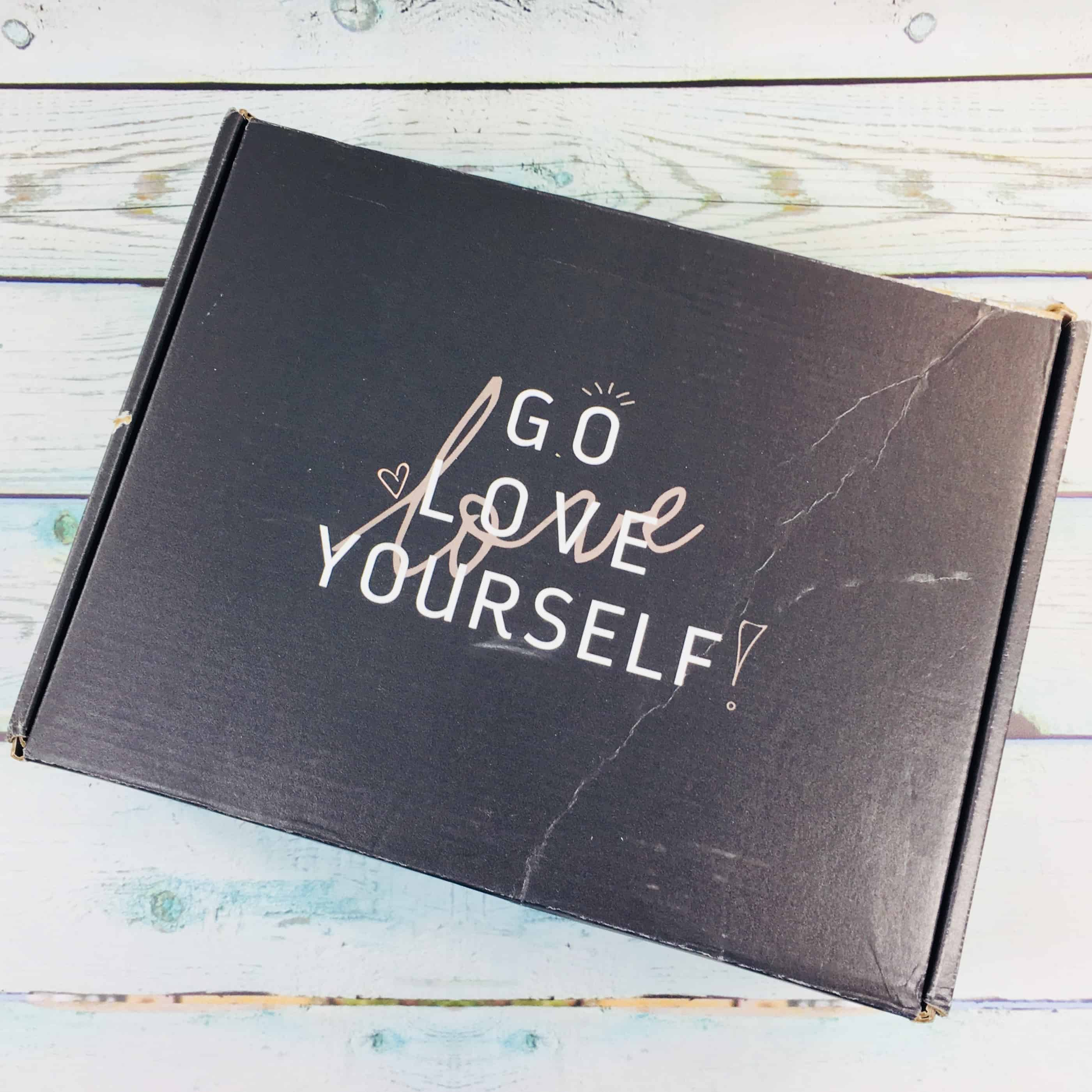 Go love yourself april 2018 subscription box review coupon hello go love yourself is a monthly subscription box to help you live a happier and more fulfilled life receive a care package each month just for you solutioingenieria Image collections