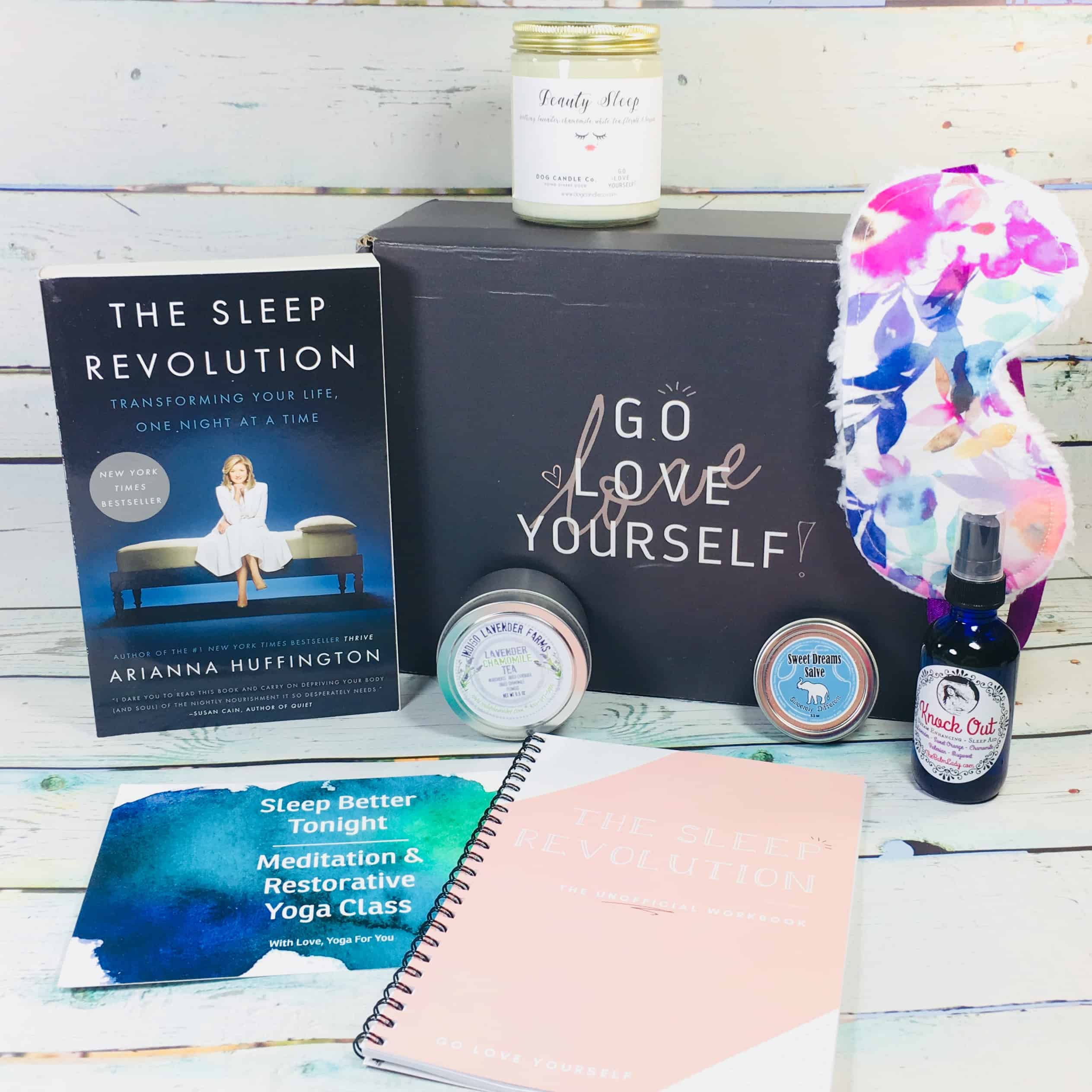 Go Love Yourself April 2018 Subscription Box Review + Coupon