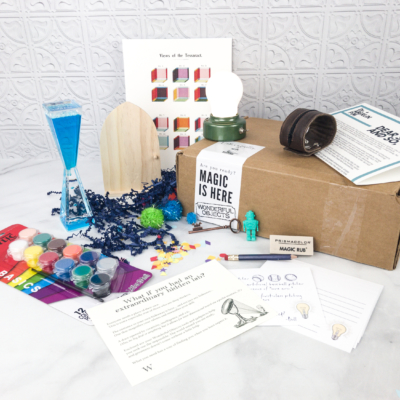 Wonderful Objects Kids  Subscription Box Review + Coupon – Extraordinary Hidden Lab