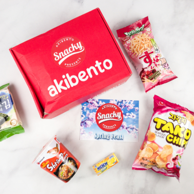 Snacky By Akibento March 2018 Subscription Box Review + Coupon