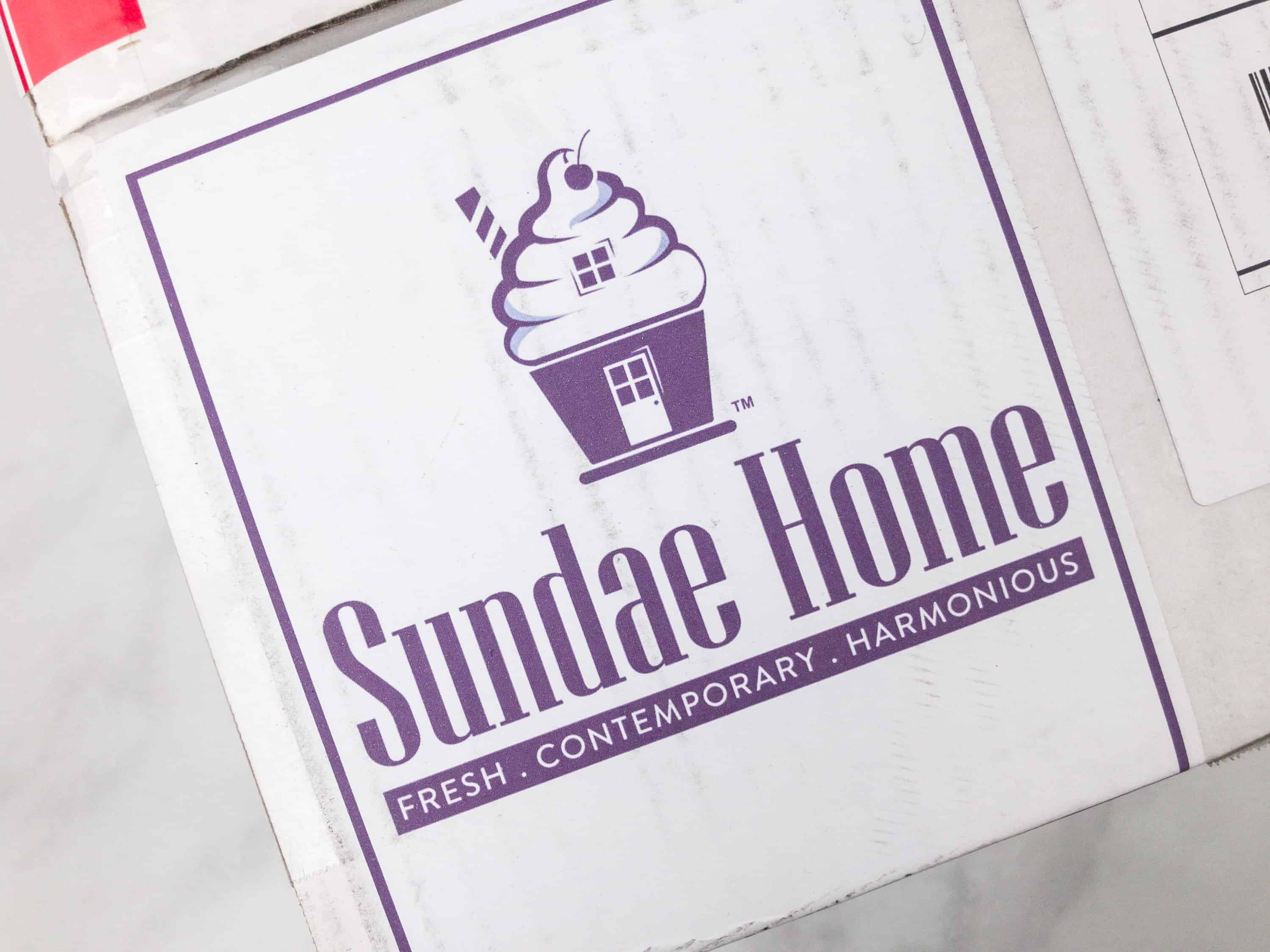 Sundae Home February 2018 Subscription Box Review Coupon