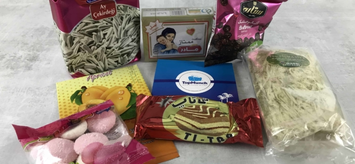 TopMunch March 2018 Subscription Box Review + Coupon