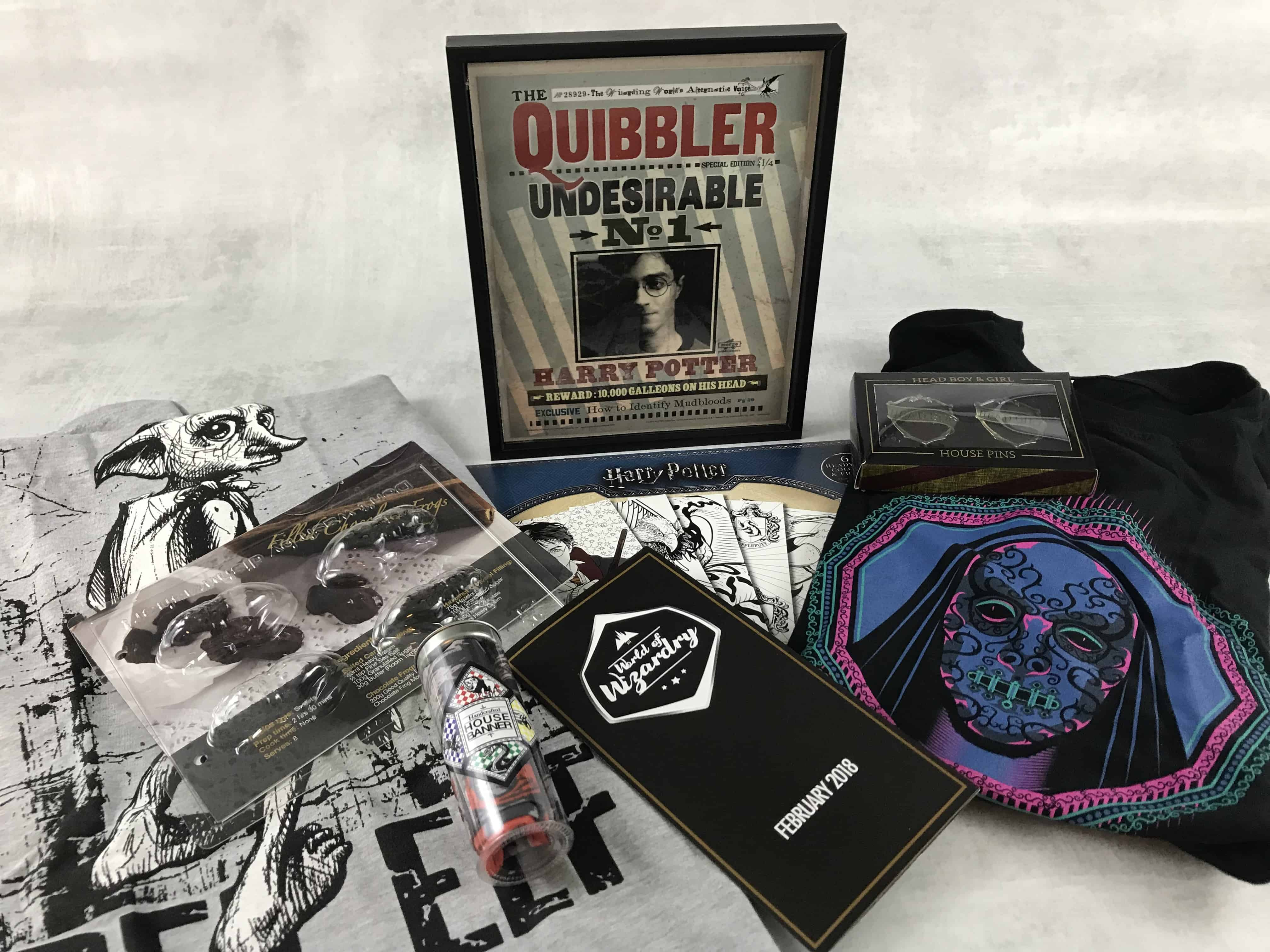 Geek Gear World of Wizardry February 2018 Subscription Box Review