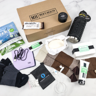 Men's Health Box Spring 2018 Subscription Box Review