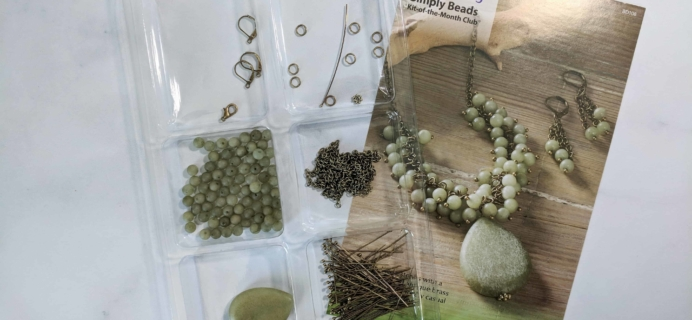 Annie's Simply Beads Kit-of-the-Month Club Subscription Box Review – March 2018