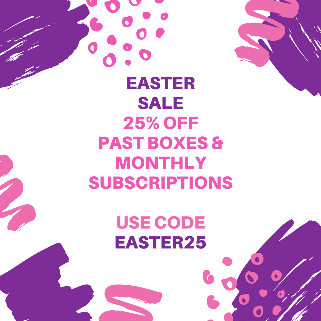 Cocotique Easter Sale: 25% Off All Subscriptions & Past Boxes!