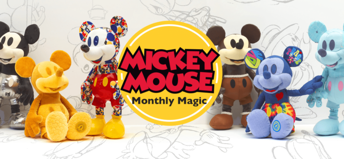 Mickey Mouse Monthly Magic Collectibles August 2018 Spoilers!