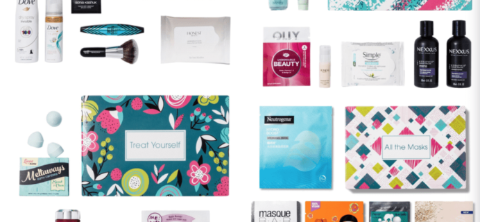 Four New Target Beauty Box Selections Now Available Online!