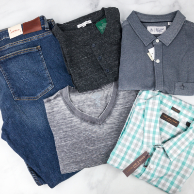 Stitch Fix Men April 2018 Review