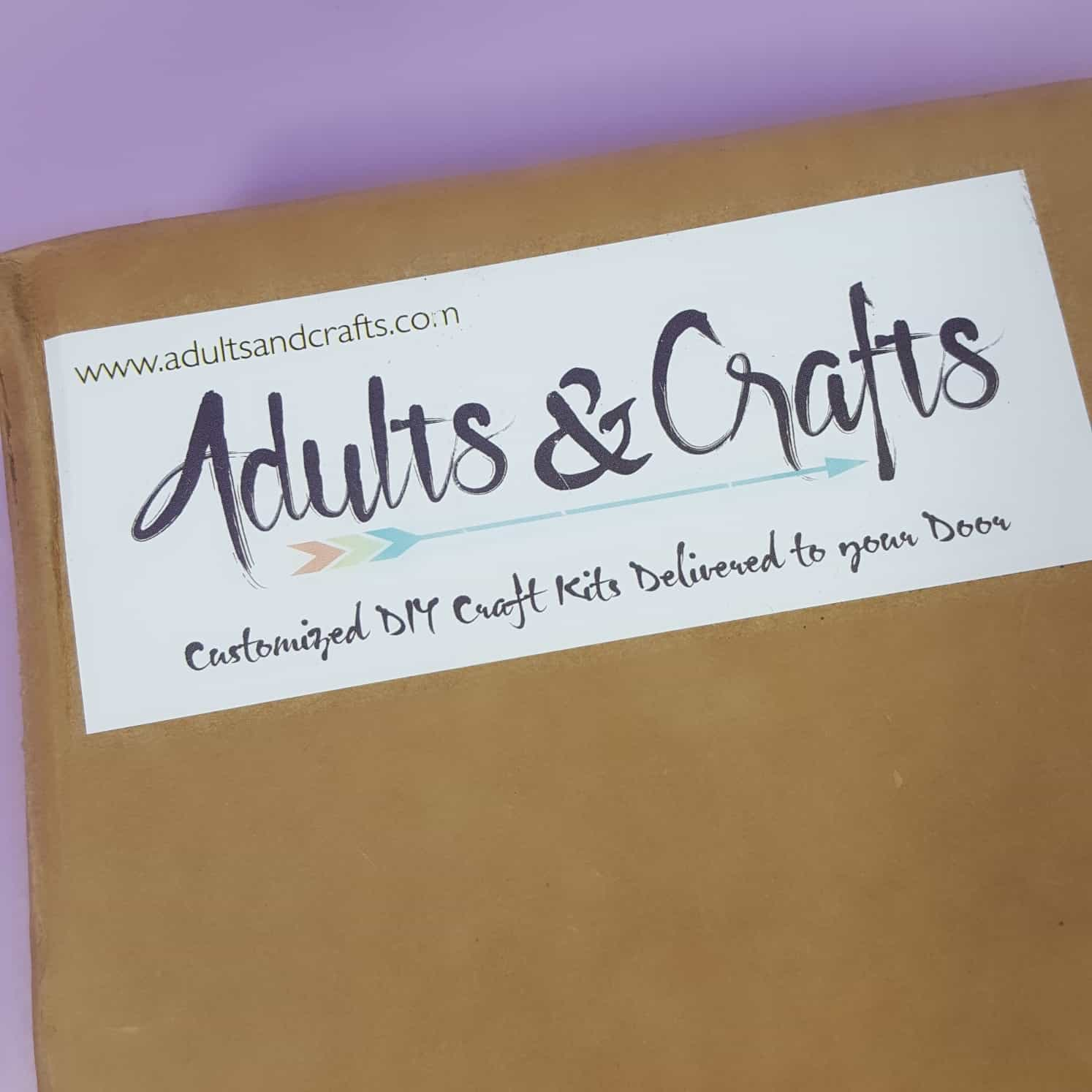 Adults Crafts January 2018 Subscription Box Review Coupon
