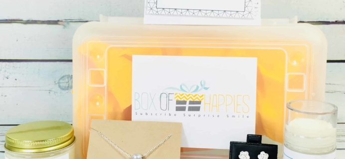Box of Happies March 2018 Subscription Box Review + Coupon