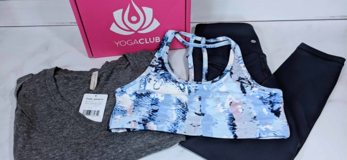 YogaClub Subscription Box Review + Coupon – March 2018