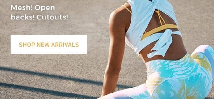 May 2018 Fabletics Selection Time + Coupon!