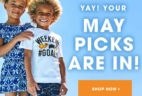 FabKids May 2018 Collection + Coupon!