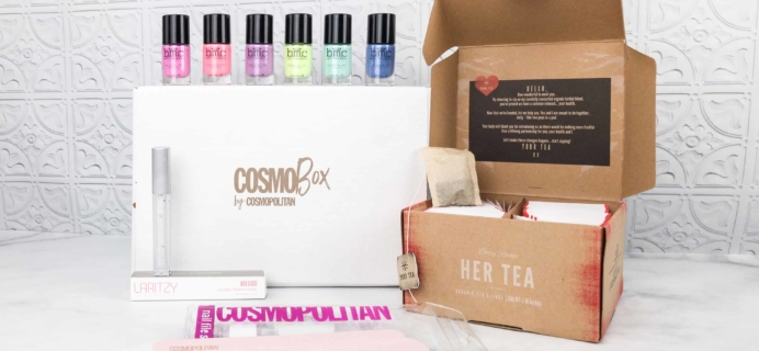 CosmoBox March 2018 Subscription Box Review