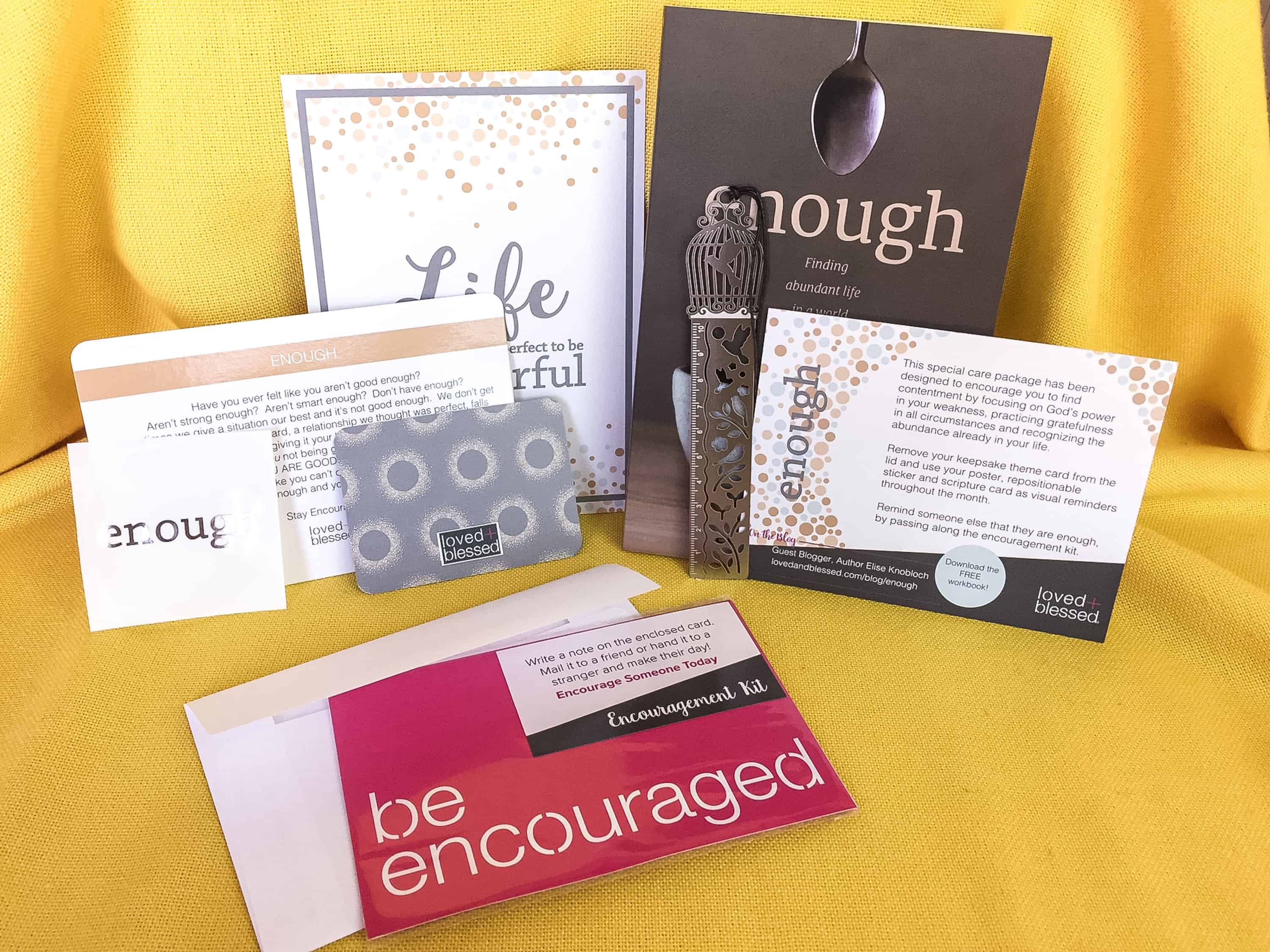 Loved+Blessed April 2018 Subscription Box Review + Coupon