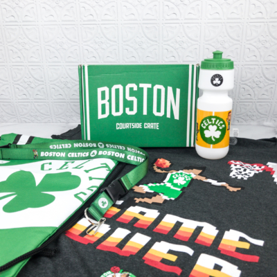 Courtside Crate by Sports Crate: NBA Edition March 2018 Subscription Box Review + Coupon