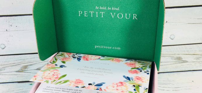 Petit Vour November 2018 Full Spoilers & 50% Off Coupon!