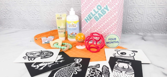 Healthiest Baby April 2018 Subscription Box Review