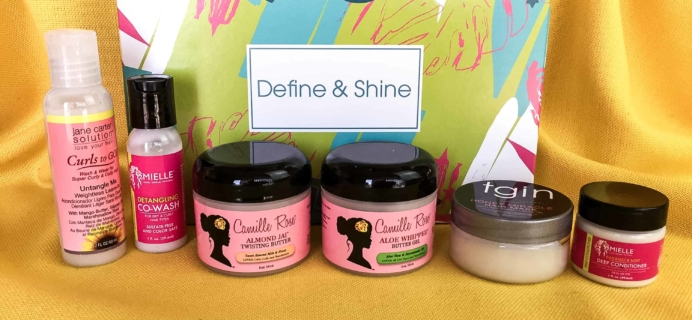 Target Beauty Box March 2018 Review – Define & Shine