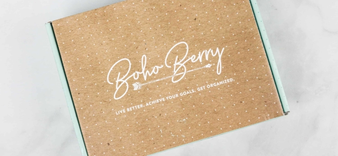 Boho Berry Box April 2019 Full Spoilers!