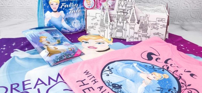 Disney Princess Pleybox March 2018 Subscription Box Review