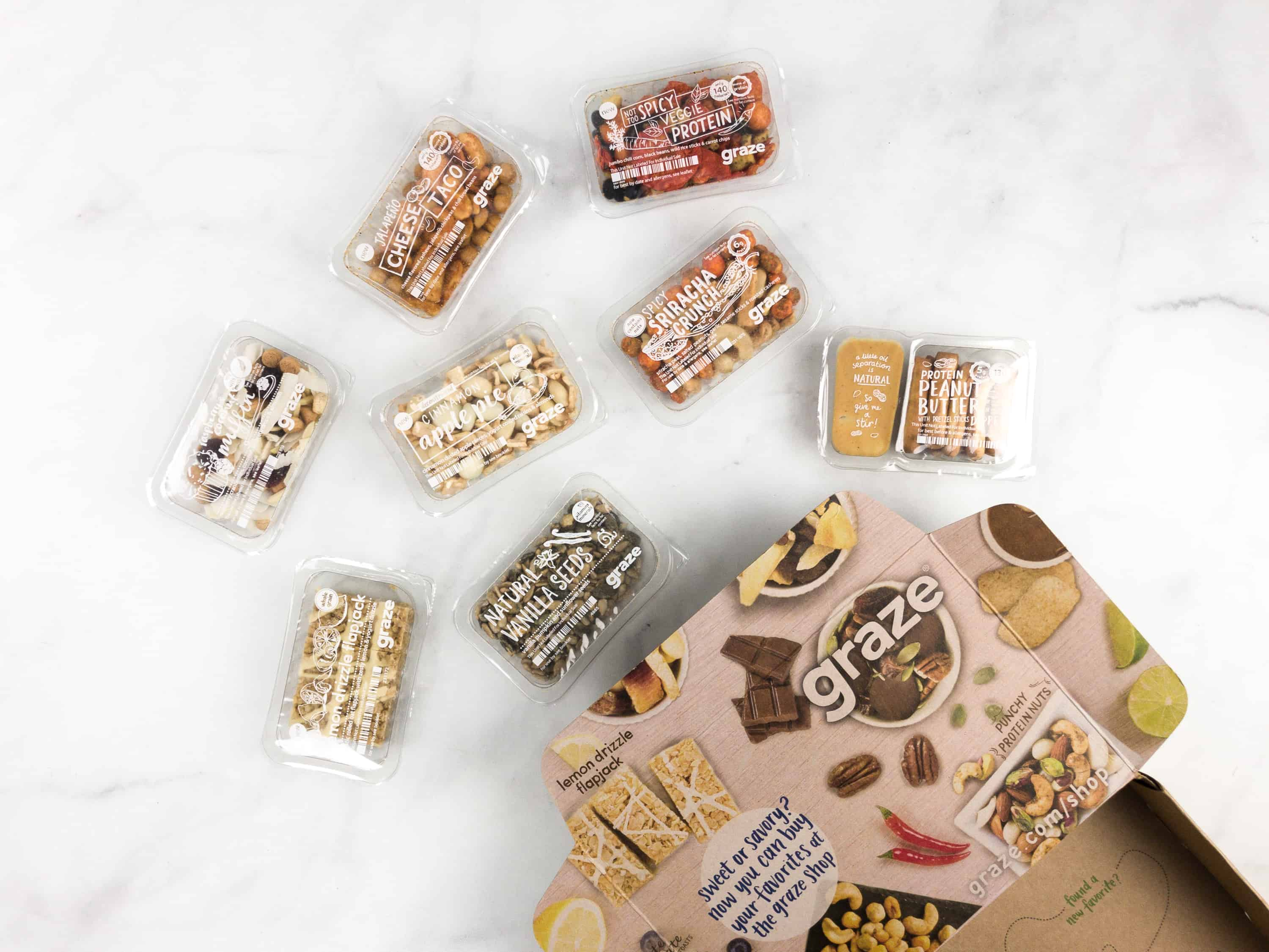 Graze Variety Box Review & Free Box Coupon – March 2018