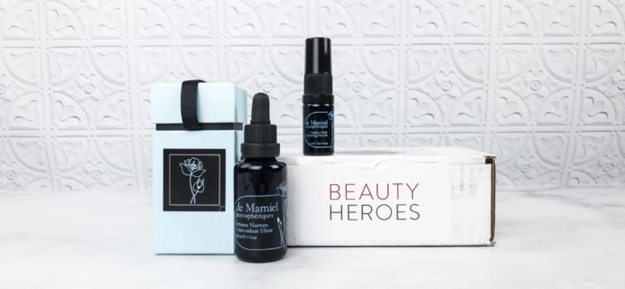 Beauty Heroes April 2018 Subscription Box Review