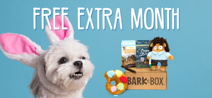BarkBox Coupon: FREE Extra Bonus Box with 6+ Month Subscription!