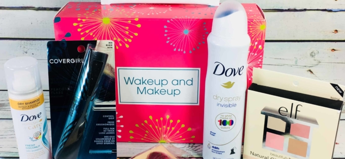 Target Beauty Box Review March 2018 – Wakeup and Makeup