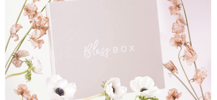Bless Box Spring 2018 Bonus Box Full Spoilers + $15 Coupon!