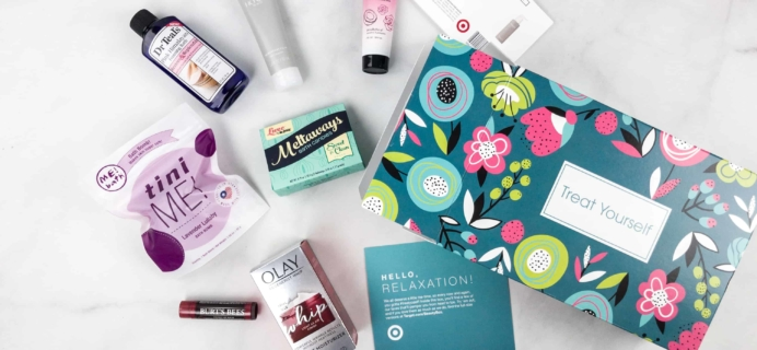 Target Beauty Box Review – Treat Yourself Box!