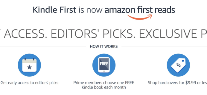 Amazon First Reads News - hello subscription